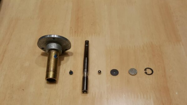 Tungsten Carbide Bearing with 999 Pure Sliver Plate Set